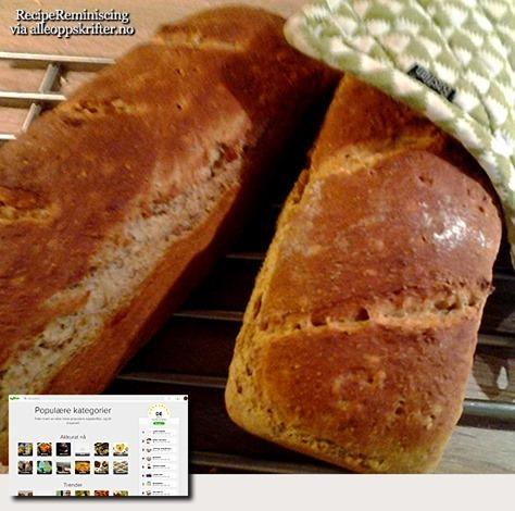 Old-Fasioned Norwegian Bread / Godt Gammeldags Brød