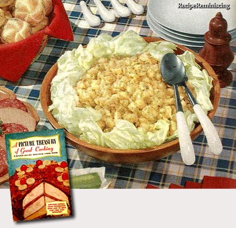 Golden Potaro Salad