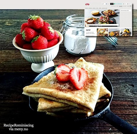 Wholesome Oatmeal Pancakes / Grove Havrepannekaker