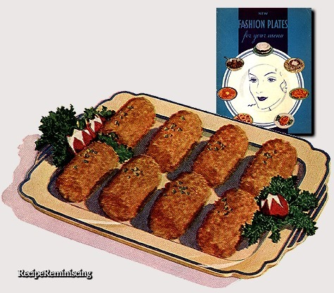 Ham Croquettes / Skinkekroketter