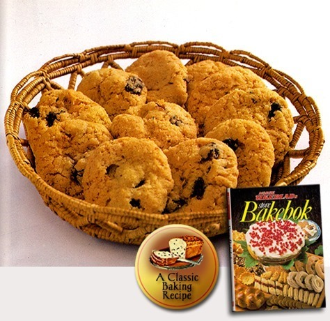 Oatmeal Cookies with Raisins / Havrekaker med Rosiner