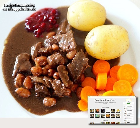 Traditional Norwegian Beef and Beans / Kjøtt og Bønner