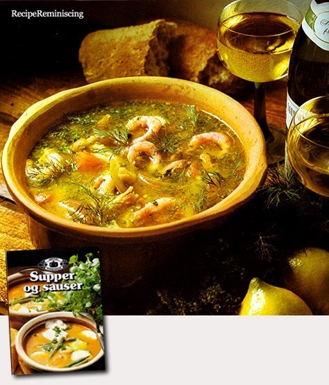 Hearty Shrimp Soup / Kraftig Rekesuppe