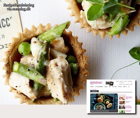 Danish Chicken Tartlets / Kyllingetarteletter