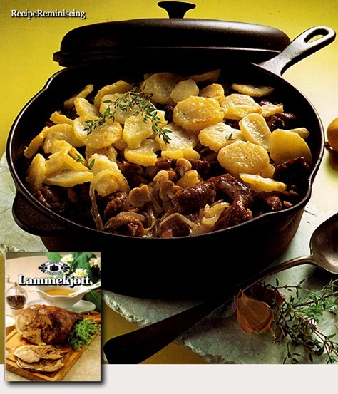 Norwegian Lamb Stew with Potatoes