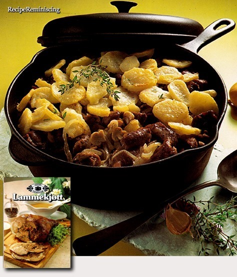 Norwegian Lamb Stew with Potatoes / Lammegryte med Poteter