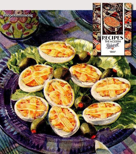 Pabst-ett Deviled Eggs