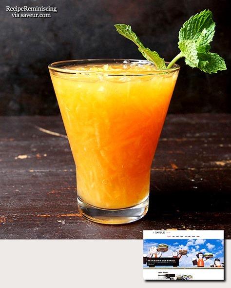 Persisk Cantaloupe Drikk