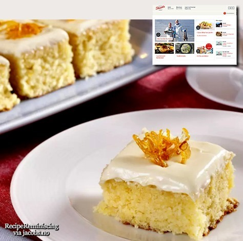 Lemon Cake / Sitronkake