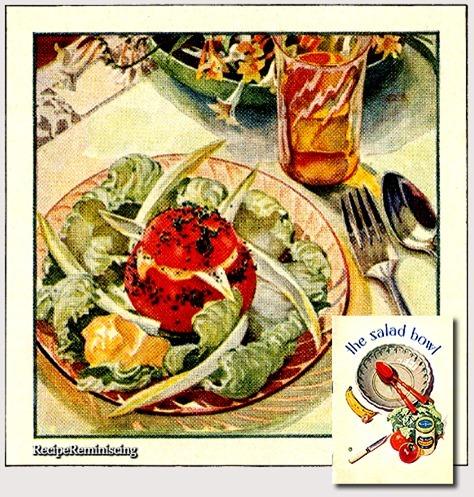 Tomat og Endivesalat