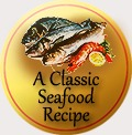 traditional badge seafood