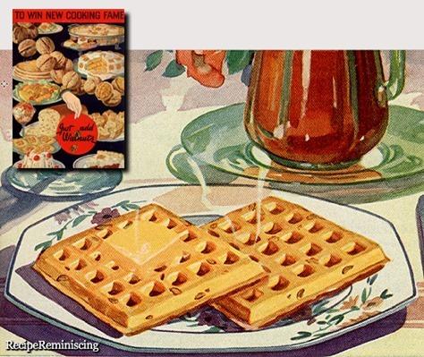 Walnu Waffles / Valnøttvafler