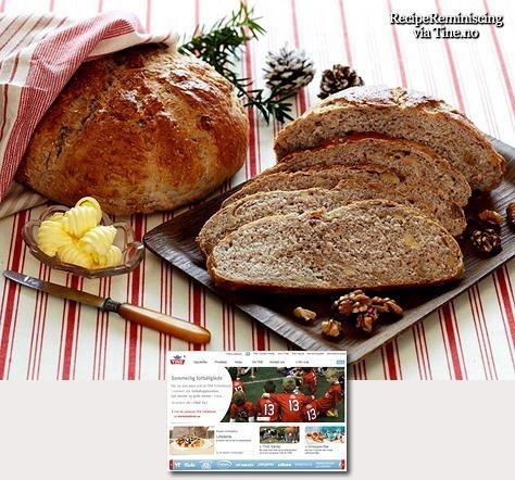 Nut Bread / Nøttebrød