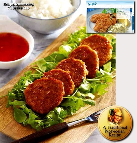 Crab Patties / Krabbekaker