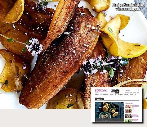 Danish Apple Pork / Æbleflæsk