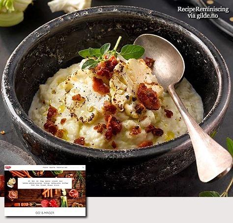 Cauliflower Purée with Bacon / Blomkål Puré med Bacon