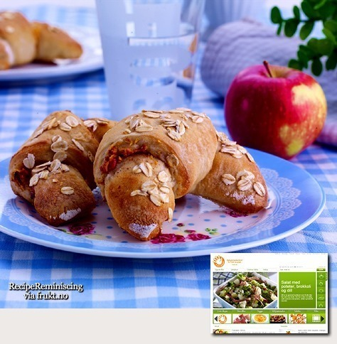 Apple Crescents / Eplehorn