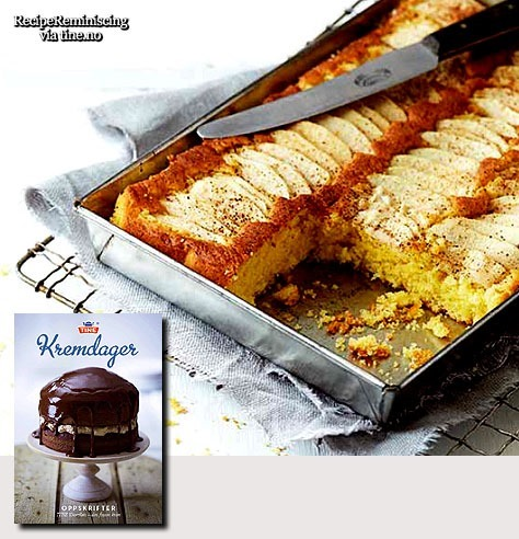Norwegian Apple Cake in Small Mould