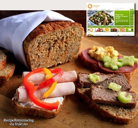 Wholemeal Bread with Carrots / Grovbrød med Gulrot