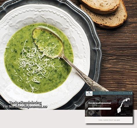 Norwegian Love Soup / Kjærlighetssuppe