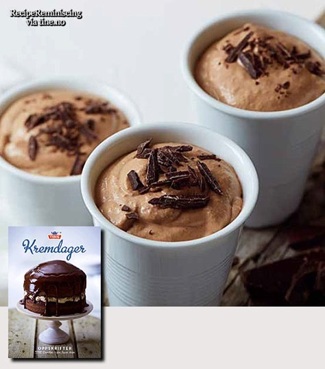 Blond Chocolate Mousse