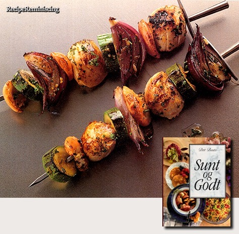 Marinated Scallop Skewers