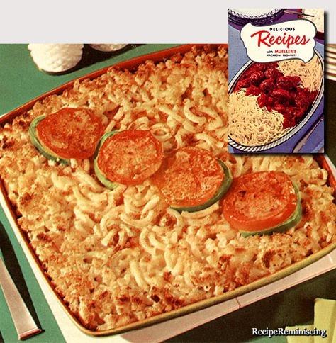 Mueller's Macaroni Cheese Bake / Mueller's Ovnsbakte Makaroni og Ost