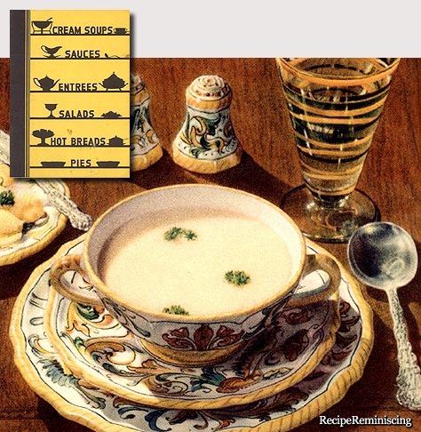 Mushroom Soup / Sjampinjongsuppe