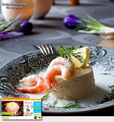 Swedish Shrimp Mousse / Räkmousse