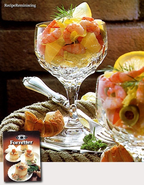 Shrimp Cocktail with Pineapple