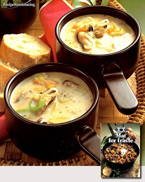 Party Soup with Mussels / Selskapssuppe med Blåskjell