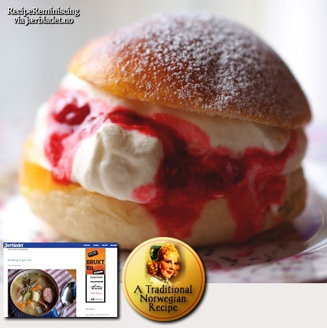 Traditional Norwegian Suldal's Buns