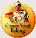 traditional badge yeast baking