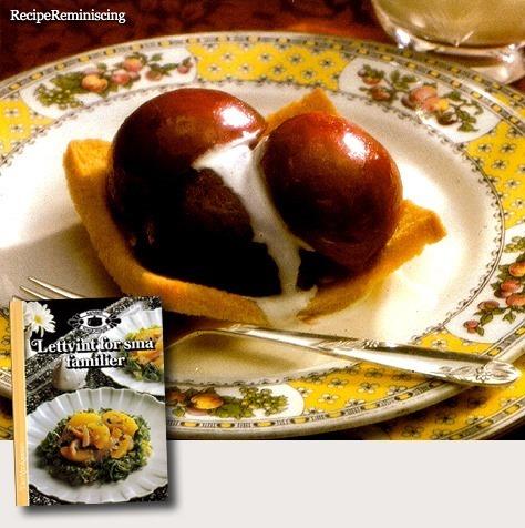 Traditional Norwegian Victoria Toast / Tradisjonell Victoriatoast