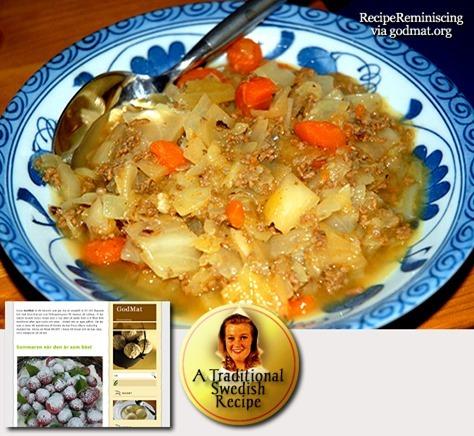 Swedish Cabbage Casserole