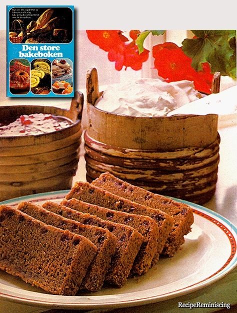 Finnish Cranberry Cake