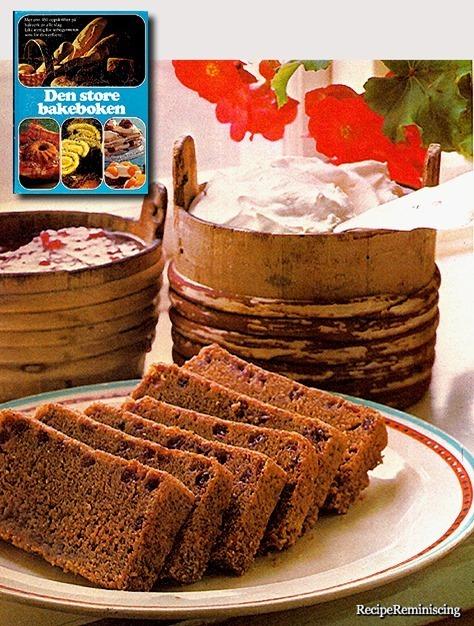 Finnish Cranberry Cake / Finsk Tyttebærkake