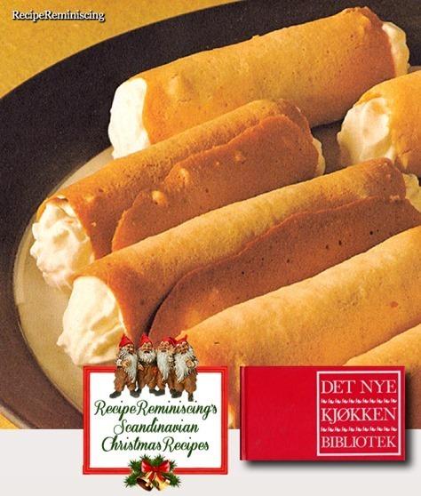 Norwegian Cream Rolls / Fløteruller