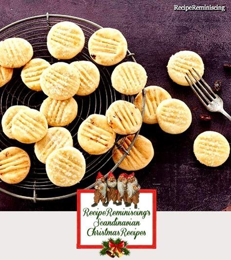 Norwegian Fork Cookies / Gaffelkaker