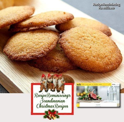Norwegian Hulda Cookies / Huldakaker