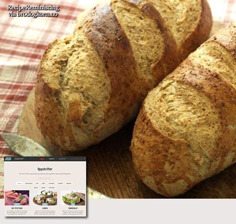 Traditional Norwegian Farmhouse Bread / Tradisjonelt Landbrød