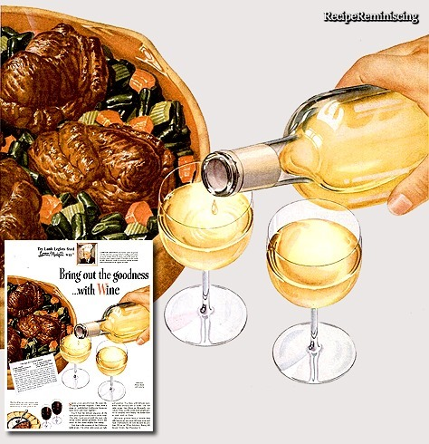 Baked Lamb Shanks / Bakte Lammeskanker