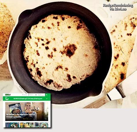 Scandinavian Pan Fried Advent Bread / Adventsbrød i Panne