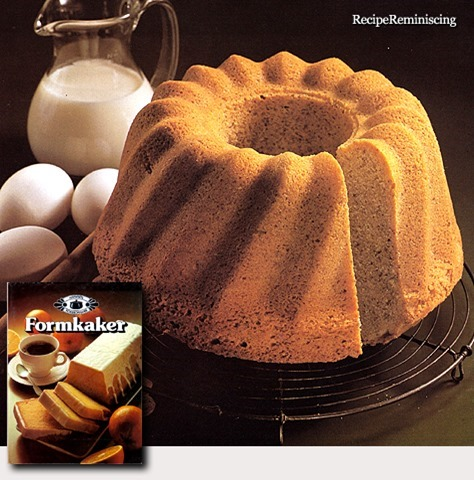Almond Cake in Ring Mould