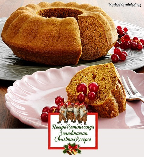 Soft Gingerbread / Myk Pepperkake