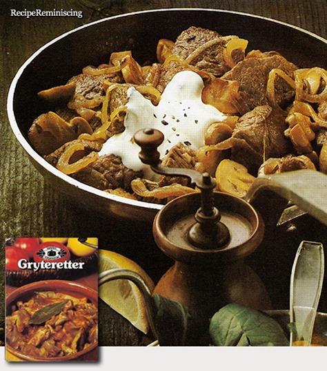 Norwegian Beef Stew / Oksegryte