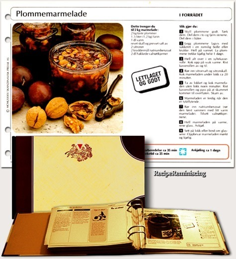 Plum Marmalade / Plommemarmelade