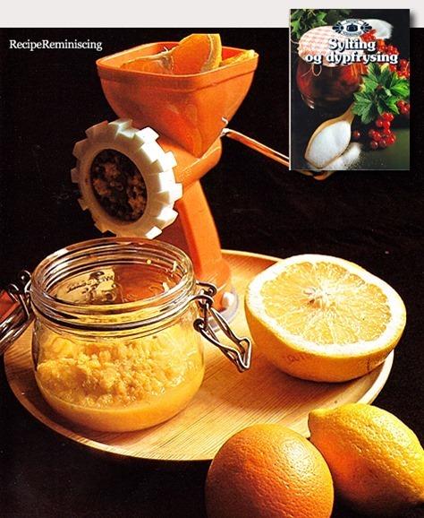 Raw Citrus Marmalade / Rå Sitrusmarmelade