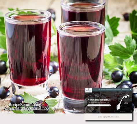 Black Currant Liqueur / Solbærlikør