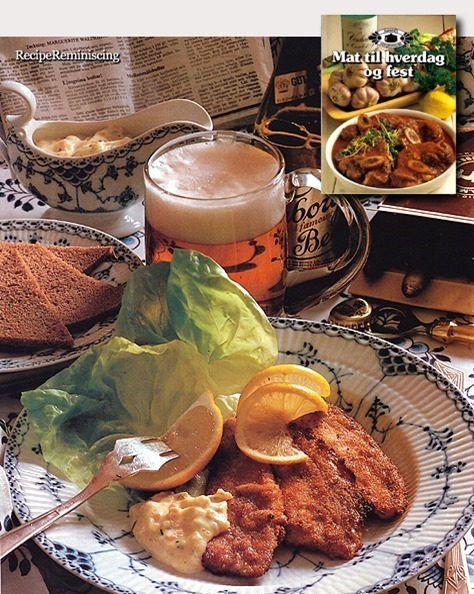 Breaded Plaice with Tartar Sauce / Sprøstekt Rødspette med Tartarsaus